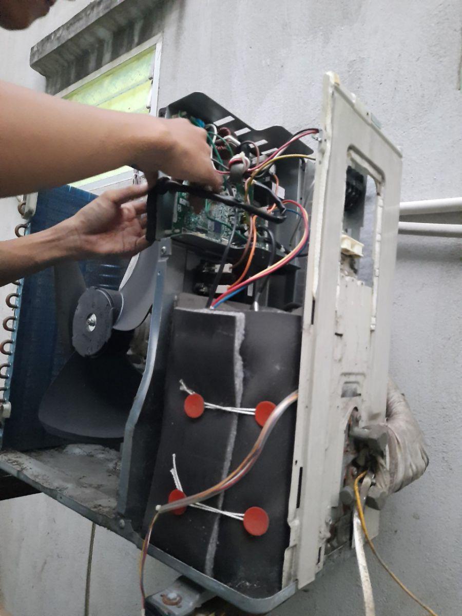 dịch vụ sửa máy lạnh ở hóc môn